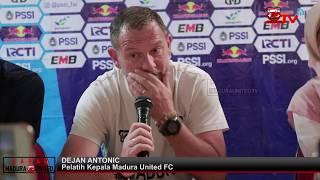 Pree Match Press ConferenceMadura United FC vs Sriwijaya FC | Piala Indonesia Leg 2