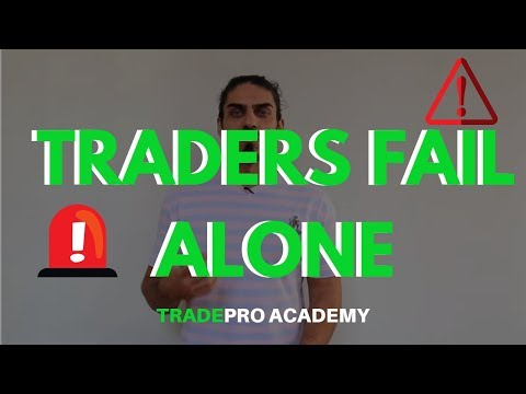 THIS IS WHY DAY TRADERS FAIL ALONE!