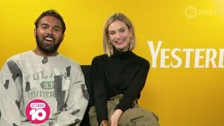 Himesh Patel, Lily James, Danny Boyle & Richard Curtis On Making 'Yesterday' | Studio 10