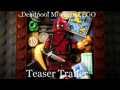 Deadpool Movie in LEGO: Teaser Trailer