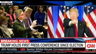 WATCH: Trump Scolds CNN Reporter At Press Conference