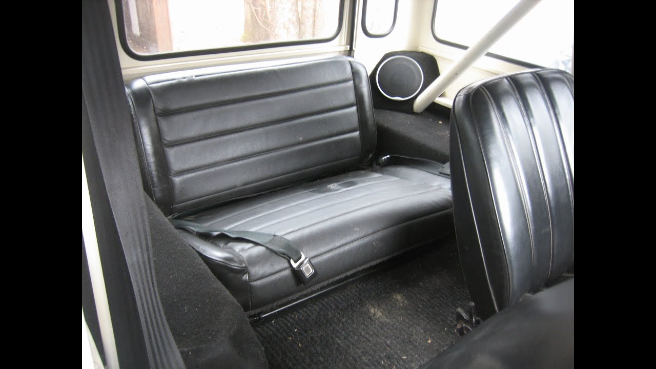 Jeep Yj Back Seat Mounting Without Floor Brackets In A Cj5