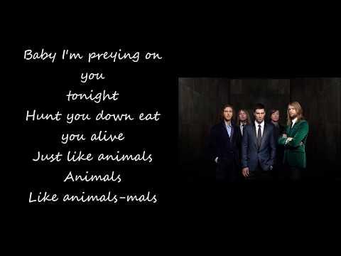 maroon-5---animals-(lyrics)