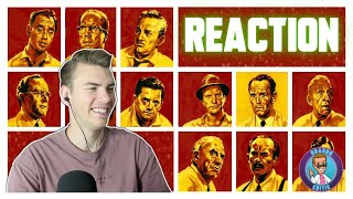 12 ANGRY MEN (1957) - MOVIE REACTION - FIRST TIME WATCHING