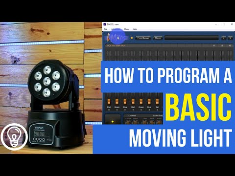 How To Program A Basic Moving Light - In 3 Consoles