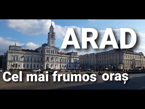 Arad, cel mai frumos oras din vestul României !