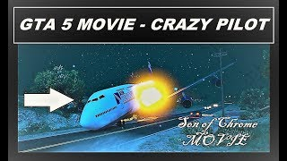 GTA 5 Movie Editor  Crazy PILOT , Gaming Plane Crash