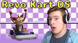 Crash Bandicoot in Mario Kart DS! - Revo Kart DS - Mario Kart DS Romhack Part 1
