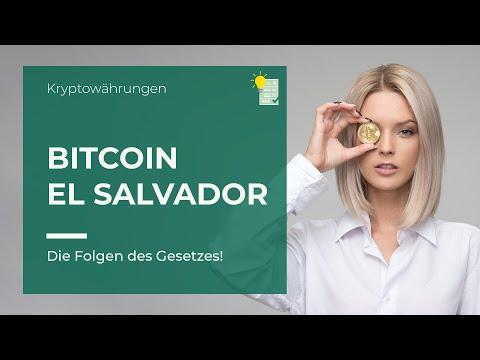 Bitcoin als gesetzliches Zahlungsmittel | Folgen für uns Deutsche!