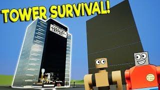 MASSIVE LEGO CRUSHER SMASHES LEGO BUILDING! - Brick Rigs Gameplay Creations - Lego Toy Destruction