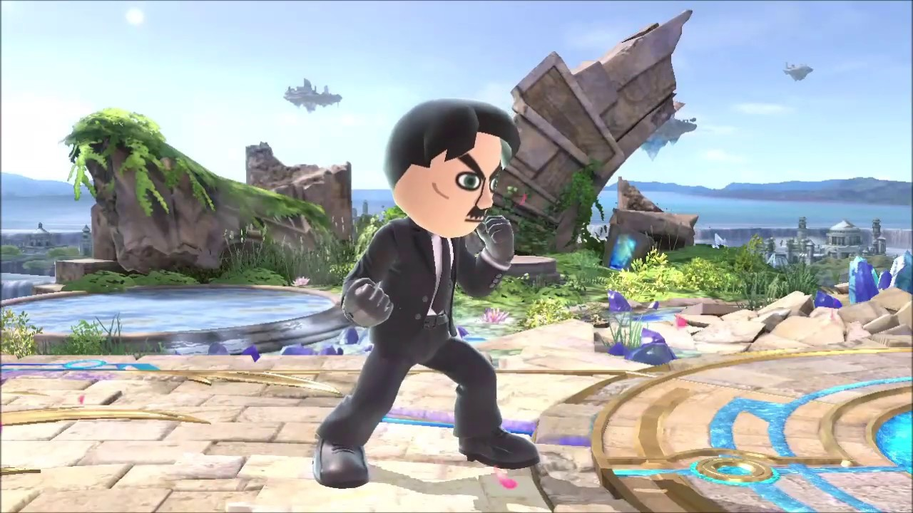 Hitler is informed that he is in smash ultimate