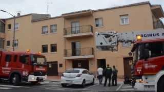 Incendio en una vivienda de  Palazuelos de Eresma  19/6/2013 (1)