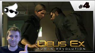 Deus Ex: Human Revolution - прохождение, обзор Часть 4