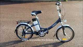 ebike electric bike review folding Batribike Breeze Folder Electric Bike ebike