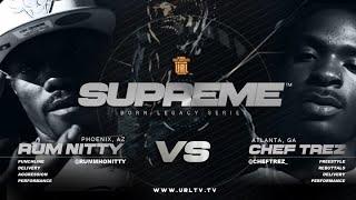 RUM NITTY VS CHEF TREZ SMACK/ URL RAP BATTLE