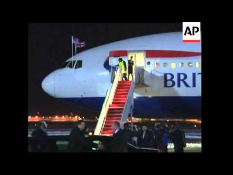British PM arrives in US to meet Obama