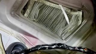 видео Замена салонного фильтра на Chevrolet lanos