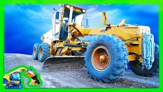 Kids Machine Video of Road Grader