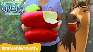 GIANT Apple Squishy! | SPIRIT RIDING FREE