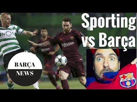 Sporting Lisbon vs FC Barcelona 0-1 2017 Champions League full match review