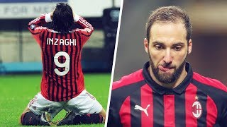 The terrible curse on AC Milan's number 9s | Oh My Goal