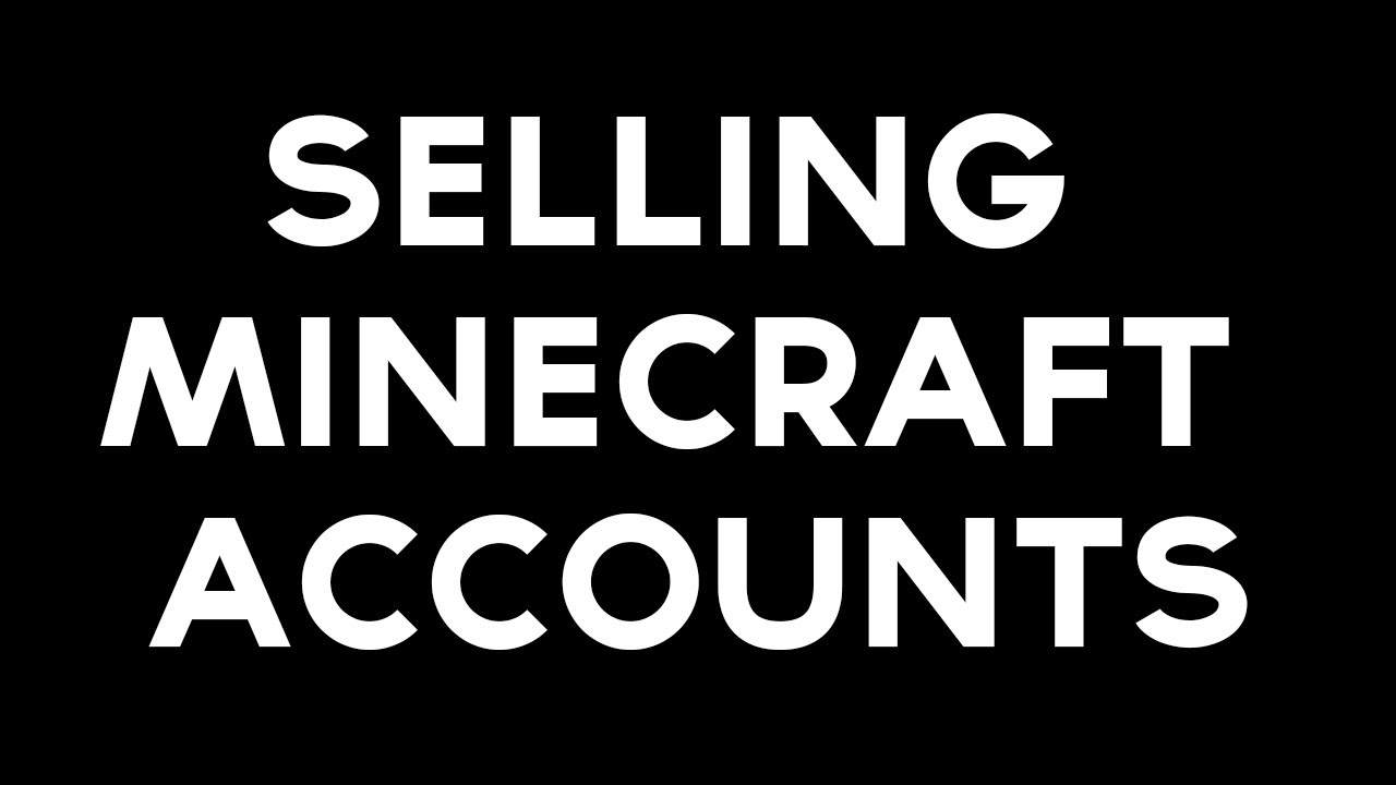 Selling Minecraft Accounts! Included Trazex! ♥ Read Desc - YouTube
