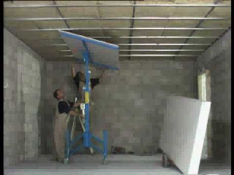 Decoresc montaje pladur techos y paredes youtube for Techos en drywall para casas