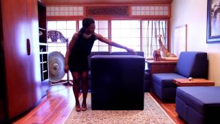 Duobed: How to Assemble Storage Ottoman
