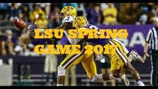 LSU Spring Game 2017 Highlights