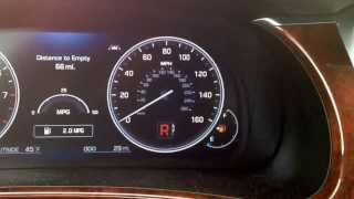 2014 Hyundai Equus gear selector cube