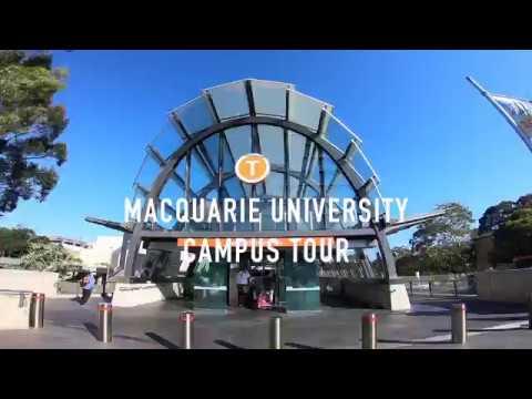 【雪梨留學#1】我在雪梨讀的大學 Macquarie University Campus Tour 校園導覽