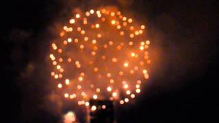 SF Giants Postgame Fireworks Show June 13, 2014