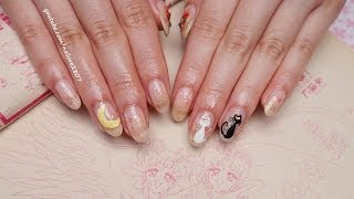 Easy Sailor Moon Nail Art Tutorial