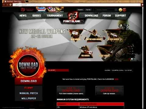 how to download point blank free in pc