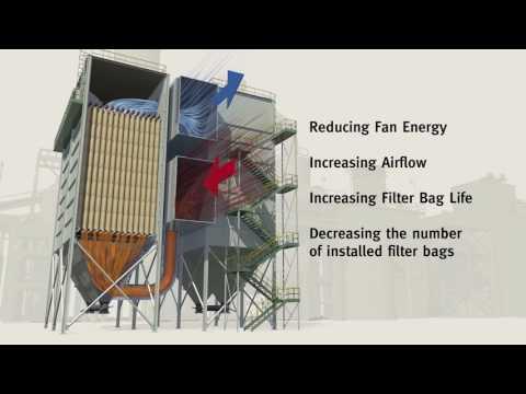 Reverse air baghouse optimization - Ferroalloy