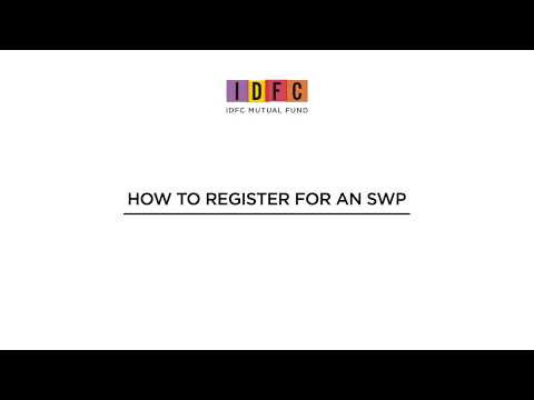 Here's How You Can Register For A Systematic Withdrawal Plan (SWP) On Our New Website