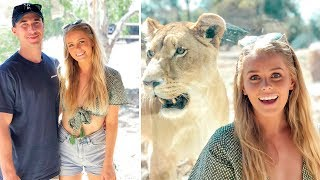 Couples Getaway 💑 + Coming Face To Face With A Lion!