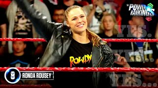 Rousey makes _Rowdy_ Power Rankings debut_ WWE Power Rankings, April 15, 2018