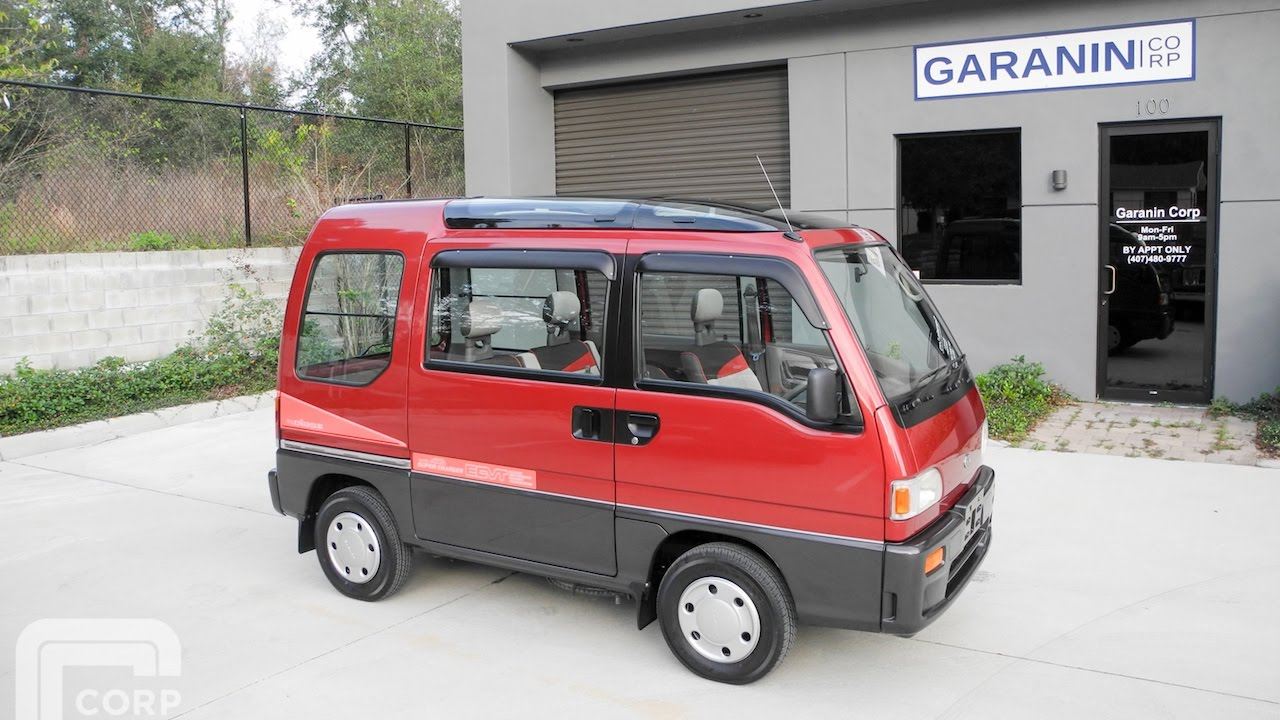 1991 subaru sambar dias2 awd supercharged kei mini van amazing youtube. Black Bedroom Furniture Sets. Home Design Ideas