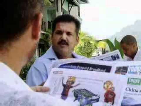 Today Newspaper Seychelles TV Commercial