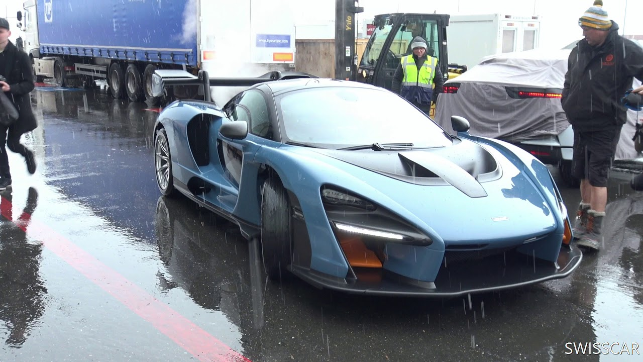 MCLAREN SENNA start up and rev