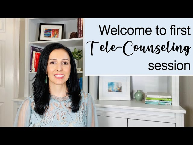 First Tele-Counseling Week Maribel Corona Licensed Professional Counselor