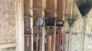7 Easy Shed Organizing Projects