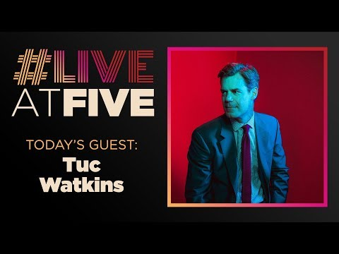 Broadway.com LiveatFive with Tuc Watkins of THE BOYS IN THE BAND