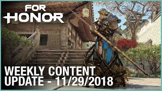 For Honor: Week 11/29/2018 | Weekly Content Update | Ubisoft [NA]