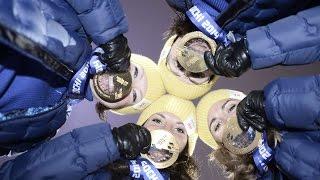 Сочи 2014. Лыжные гонки. Эстафета 4х5 км Женщины