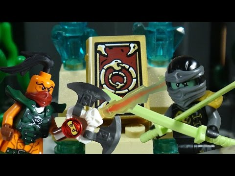 LEGO NINJAGO THE MOVIE PART 26 - SKYBOUND - THE BOOK OF SPELLS