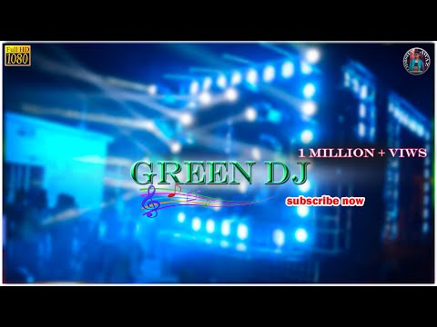 GREEN DJ BRAND NEW SETUP 2018 Full HD.
