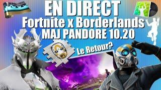 """""""Fortnite x Borderlands MAJ10.20🏆MAP PANDORE 🔥TOP1 EN MASSE💫✅NEW SKIN❗️✨"""