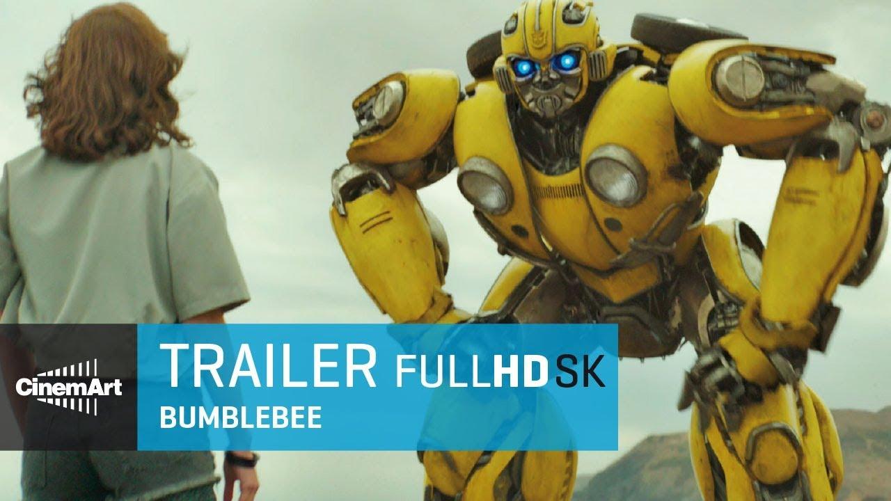 Bumblebee (2018) oficiálny HD trailer # 2 [SK DAB]